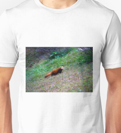 Red Racoons  Unisex T-Shirt