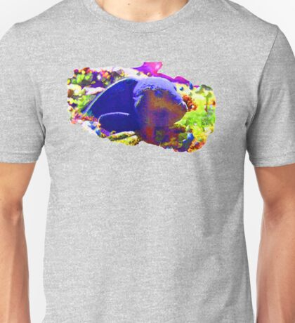 Wild Fishy Story By A Blue Fish Unisex T-Shirt