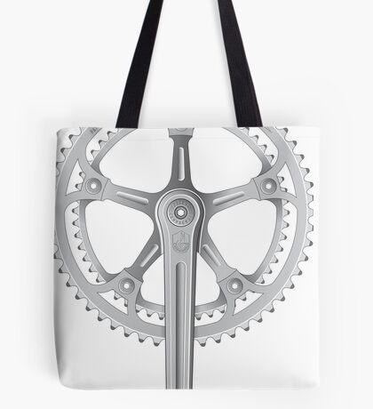 Campagnolo Super Record Strada Chainset, 1974 Tote Bag