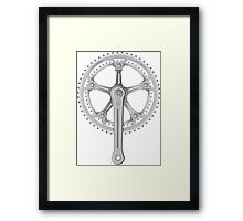 Campagnolo Super Record Strada Chainset, 1974 Framed Print