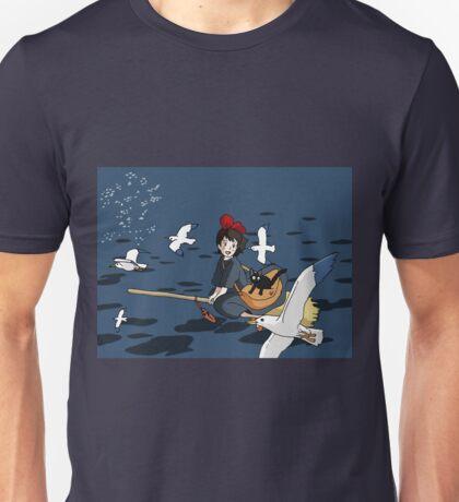 Kiki Flying Unisex T-Shirt