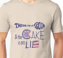 There is a spoon & the cake is no lie Unisex T-Shirt