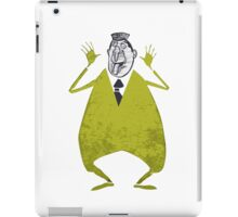 Character cartoons large poster, comics artwork iPad Case/Skin