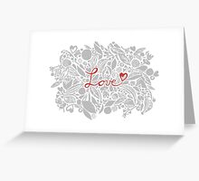 Madly in love with you Greeting Card