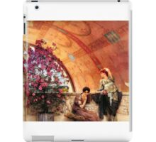 Unconscious Rivals By Sir Lawrence Alma-Tadema iPad Case/Skin