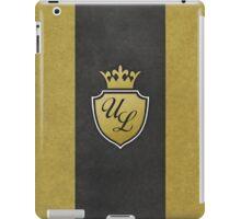 Ultra Luxe Casino Crest iPad Case/Skin
