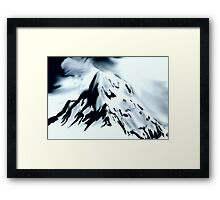 Abstract Mtns I Framed Print