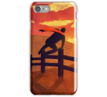 Jump the Fence iPhone Case/Skin