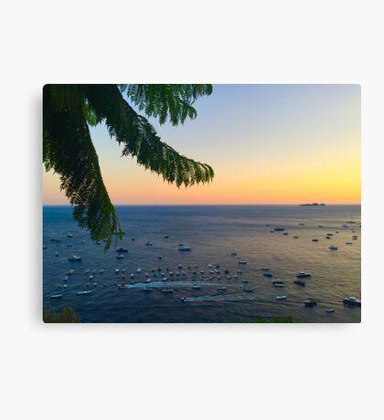 Positano Evening Canvas Print