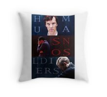 Sherlock-Soldiers Throw Pillow