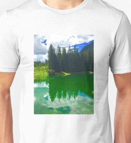 Green Lake - Reflections 1 Unisex T-Shirt