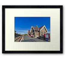 Horton in Ribblesdale Station Framed Print