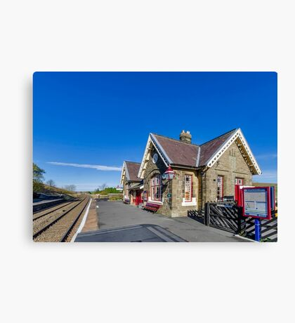 Horton in Ribblesdale Station Canvas Print