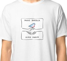 Make America Kind Again - with border - by Lauren Scheuer Classic T-Shirt