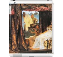 Antony and Cleopatra 1883 Sir lawrence Alma-Tadema iPad Case/Skin