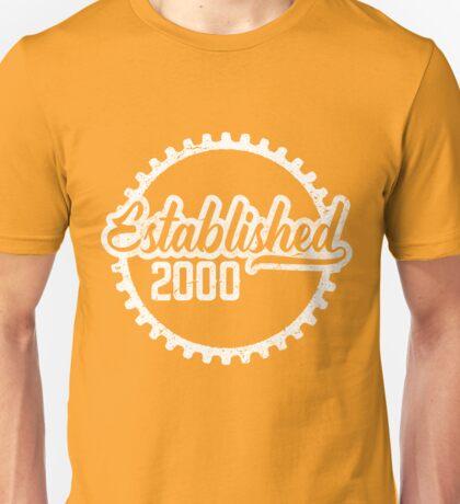 Established 2000  Unisex T-Shirt