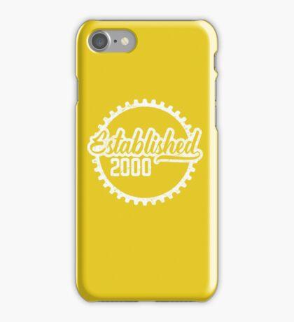Established 2000  iPhone Case/Skin