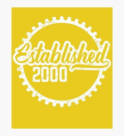 Established 2000  Photographic Print