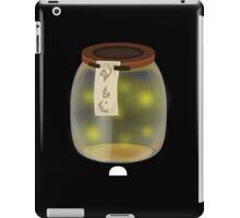 Glitch furniture tabledeco firefly jar iPad Case/Skin