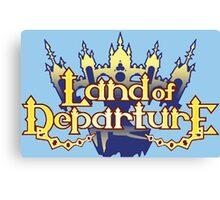 Land of departure Canvas Print