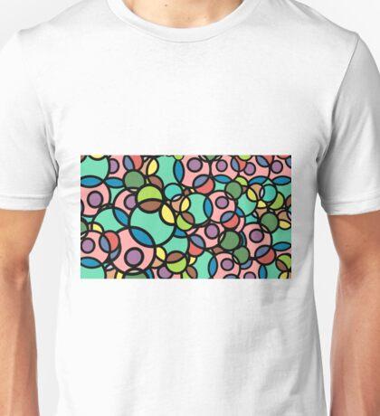 Bubbleforms - pink multicolour Unisex T-Shirt