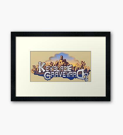 Keyblade Graveyard Framed Print
