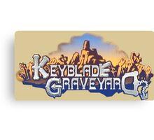 Keyblade Graveyard Canvas Print