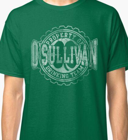 O'Sullivan Irish Drinking Team Beer Cap Classic T-Shirt