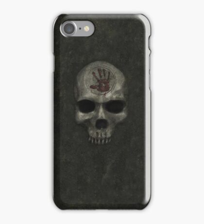 Alt. Dark Brotherhood Door iPhone Case/Skin