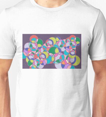 Bubbleforms - purple multicolour Unisex T-Shirt