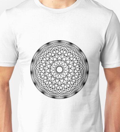 Line Mandala Unisex T-Shirt