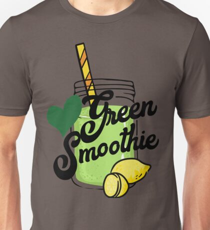 Love Green Smoothie - health food kale healthy eating eat clean cleanse healthy breakfast Unisex T-Shirt