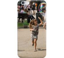 High Five With Bubbles In Their Eyes iPhone Case/Skin