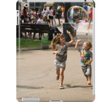 High Five With Bubbles In Their Eyes iPad Case/Skin