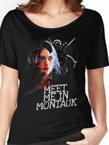 Meet Me In Montauk T-Shirt Women's Relaxed Fit T-Shirt