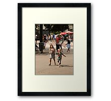 It's Nearly Pop Time  Framed Print