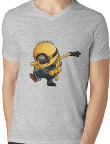 Minion dab Mens V-Neck T-Shirt