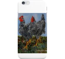 The Farm Chicks iPhone Case/Skin