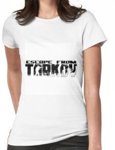 Escape from tarkov logo Womens Fitted T-Shirt