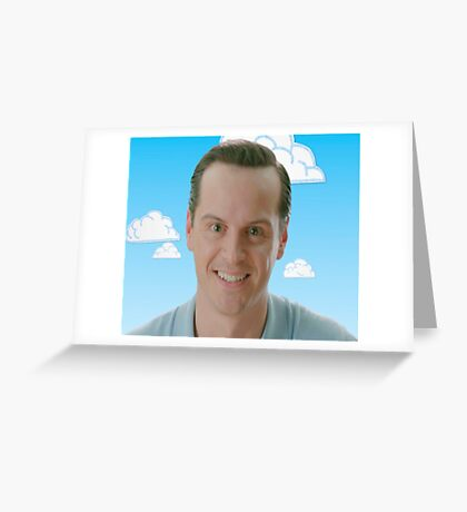 Jim Moriarty storyteller Greeting Card