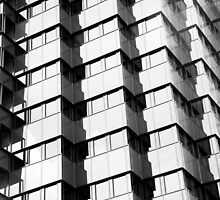 Black & White Bank by Shaun Colin Bell