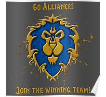 GO ALLIANCE! Poster