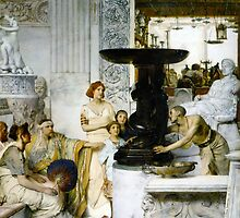 The Sculpture Gallery 1874 Sir lawrence Alma-Tadema by Old-Time-Images