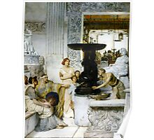 The Sculpture Gallery 1874 Sir lawrence Alma-Tadema Poster