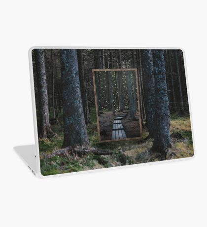 Mirror Of The Soul Laptop Skin