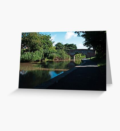 Worcester to Birmingham canal revisited Greeting Card