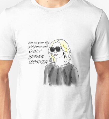 Supergirl's Cat Grant, Own You Power Unisex T-Shirt
