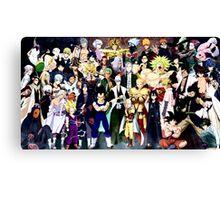 Anime mix - All animes Canvas Print
