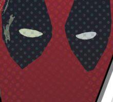 Deadpool Minimalist Art Sticker