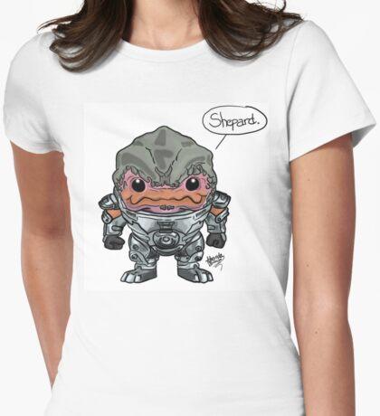 Grunt - Mass Effect Womens Fitted T-Shirt